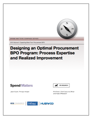 Designing an Optimal Procurement BPO Program Cover Image
