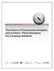 The Future of Procurement Analytics and Content Cover Image