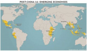 Emerging Manufacturing and Procurement Regions (Source: Stratfor and Supply Chain Digest)