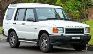 A Land Rover Discovery. Photo presumably taken before the 50,000-mile mark.