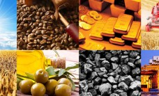 commodities gold coffee coal agriculture