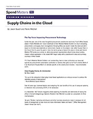 Supply Chains in the Cloud Cover Image