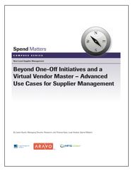 Beyond One-Off Initiatives and a Virtual Vendor Master Cover Image
