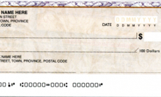 Personal-cheque