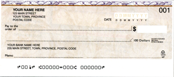 how to get rbc cheques