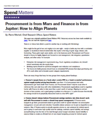 Procurement is from Mars and Finance is from Jupiter Cover Image