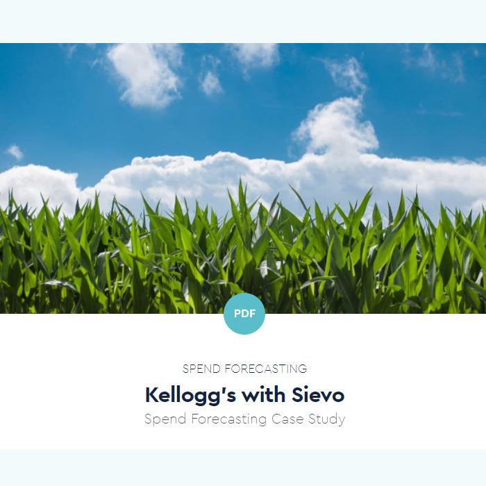 Kellogg's - Spend Forecasting