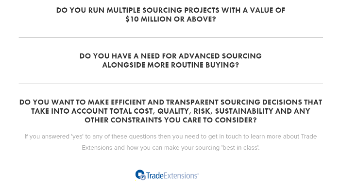 Strategic Sourcing Software